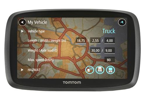 GPS TOMTOM TRUCKER 6000