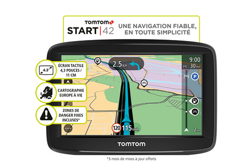 GPS TOMTOM START 42 EU 48