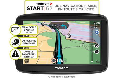 GPS TOMTOM START 62 EU 48