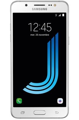 Mobile nu Samsung GALAXY J5 2016 BLANC