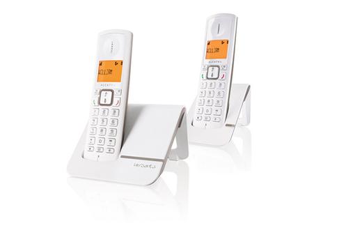 TéLéPHONE SANS FIL ALCATEL F 230 DUO GRIS