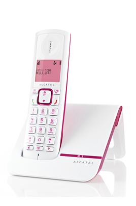 TéLéPHONE SANS FIL ALCATEL F230 ROSE