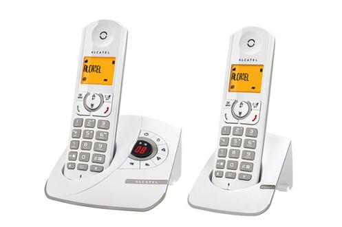 TéLéPHONE SANS FIL ALCATEL F 330 VOICE DUO GREY