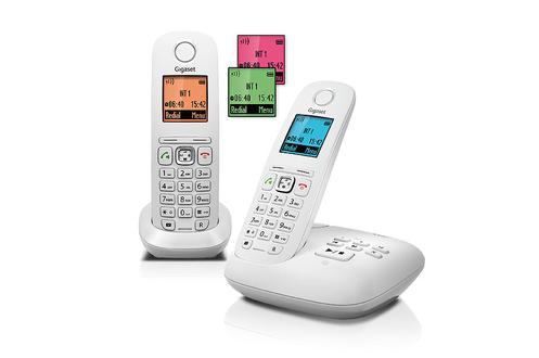 TéLéPHONE SANS FIL GIGASET GIGASET A545A DUO BLANC