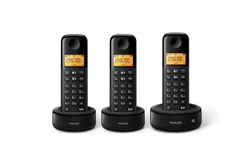 TéLéPHONE SANS FIL PHILIPS D153B/FR