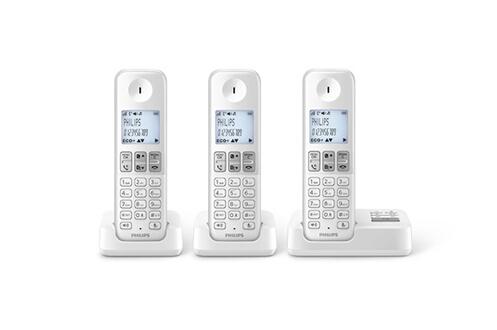 TéLéPHONE SANS FIL PHILIPS D235 REPONDEUR TRIO