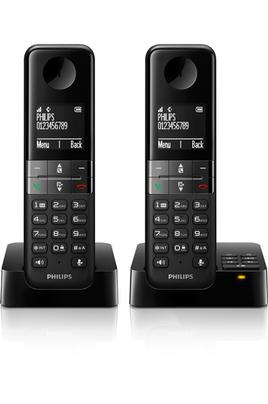 TéLéPHONE SANS FIL PHILIPS D455 REPONDEUR DUO