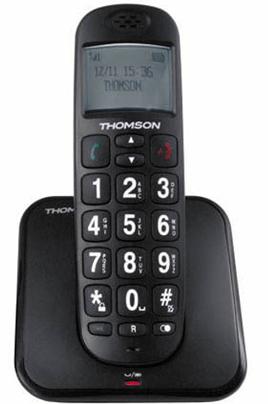 TéLéPHONE SANS FIL THOMSON CONECTO 200 BLACK