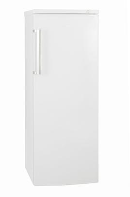Congélateur armoire à froid statique, 162 LContrôle mécanique, autonomie 16 heures, 6 tiroirsVolume total 162 L, Dimensions HxLxP : 143 x 55 x 58 cmClasse A+, poignée Inox