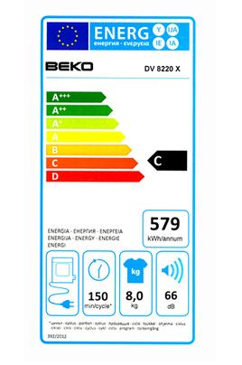 Beko DV8220X