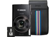 Canon IXUS 285 HS NOIR + ETUI + 8GO