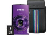 Canon IXUS 285 HS POURPRE + ETUI + 8GO