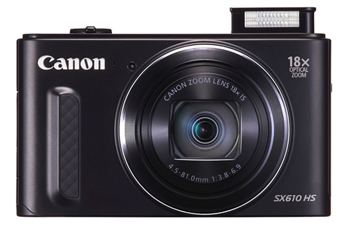 Canon powershot sx610 hs housse carte sd 8go for Housse appareil photo canon