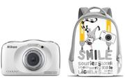 Nikon COOLPIX S33 KIT SAC A DOS BLANC
