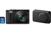 Panasonic LUMIX TZ70+HOUSSE+SD 8GO