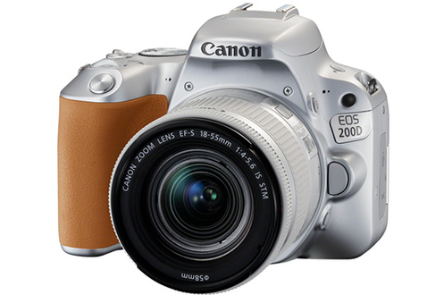 Canon EOS 200D ARGENT + EF-S 18-55 MM F/4-5,6 IS STM