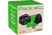 Canon PACK EOS 750D + 18-135 MM IS STM + FOURRE-TOUT + SD 16GO