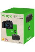 Canon PACK EOS 77D + EF-S 18-135 IS USM + FOURRE-TOUT + SD 8GO