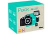 Nikon D3400+AF-P 18-105MM VR + HOUSSE + SD 16GO