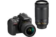 Nikon D3400 NOIR + AF-P 18-55MM VR + AF-P 70-300MM VR