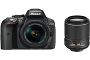 Nikon D5300 + AF-P 18-55mm VR + 55-200mm VR II
