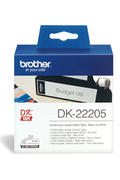 Brother Papier thermique - Rouleau 6,2 cm