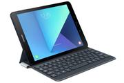 Samsung Etui à rabat gris avec clavier intégré pour Samsung Galaxy Tab S3 9,7