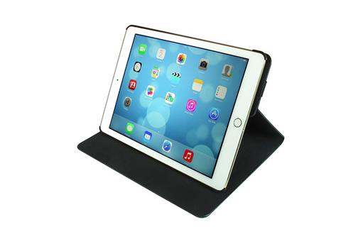 temium folio stand rotatif 360 noir pour ipad air 2. Black Bedroom Furniture Sets. Home Design Ideas