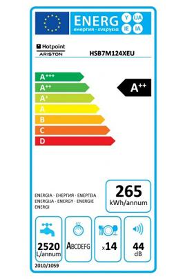 Hotpoint HSB7M124X EU
