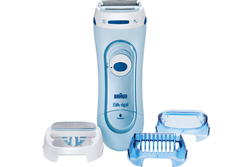 Braun SILK & SOFT LADY SHAVER 5160 Wet & Dry
