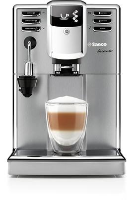 Saeco hd8914 01 expresso super automatique incanto noir inox hd8914 01 - Cafetiere broyeur saeco ...