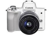 Canon EOS M50 Blanc + EF-M 15-45 mm f/3.5-6.3 STM