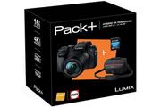 Panasonic PACK LUMIX DMC-G7H + 14-140MM + HOUSSE + SD 8GO