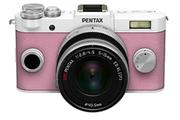 Pentax Q-S1 BLANC ROSE + 5-15MM