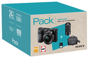 Sony PACK A6000 + 16-50MM + 55-210MM + SACOCHE + SD 16 GO