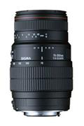 Sigma 70-300mm 4-5,6 APO DG Macro Nikon