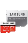 Samsung MSD EVO PLUS 256 GO +ADAP