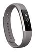 Fitbit BRACELET EN CUIR COULEUR GRAPHITE TAILLE L POUR FITBIT ALTA