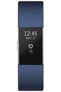Fitbit CHARGE 2 BLEU ARGENT LARGE