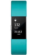 Fitbit CHARGE 2 TURQUOISE ARGENT LARGE