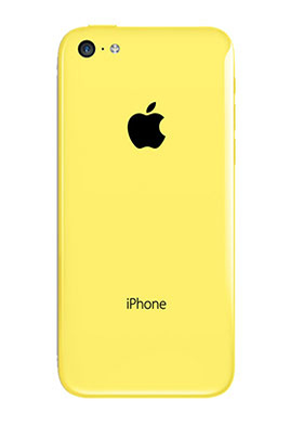 apple iphone 5c 32go jaune. Black Bedroom Furniture Sets. Home Design Ideas