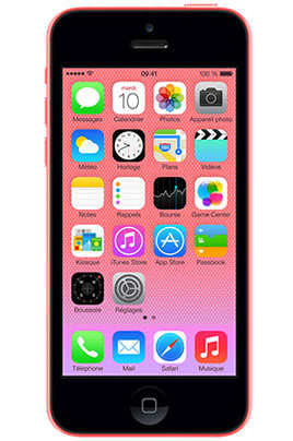 apple iphone 5c 32go rose reconditionne. Black Bedroom Furniture Sets. Home Design Ideas