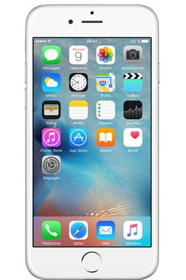 apple iphone 6 16go argent reconditionne. Black Bedroom Furniture Sets. Home Design Ideas