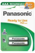 Panasonic EVOLTA AAA LR03 750 mAh x2