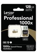 Lexar PROFESSIONAL 1000x MICRO SDXC 128 Go