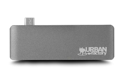 Urban Factory HUB USB TYPE-C + 3 USB 2.0