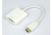 Temium Adaptateur HDMI vers VGA 0,2M Blanc photo 1