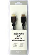Temium Câble HDMI HS Ethernet 1,5M