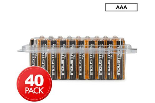 Duracell Pack de 40piles AAA