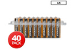 Duracell pack de 40 piles AA photo 1
